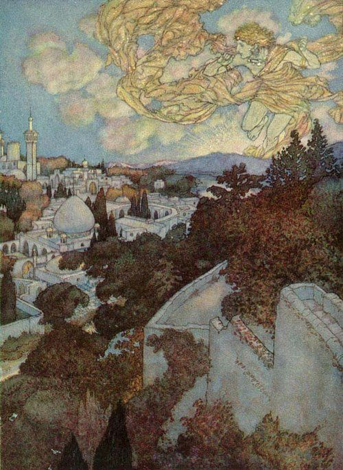 """Morning"" by Edmund Dulac"
