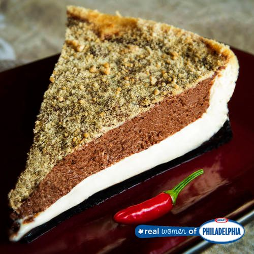 ... Chocolate Chili Cheesecake | Now this is a cheesecake with some heat