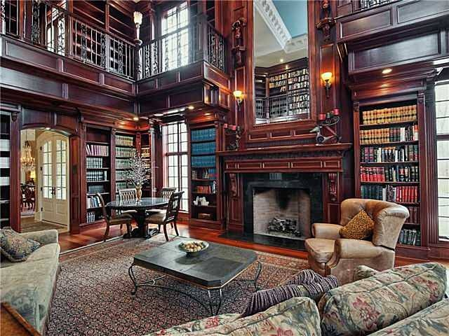 Dream home library library room pinterest for Personal home library