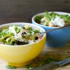 Quinoa Burrito Bowl is filling and refreshing, with beans, pico de ...