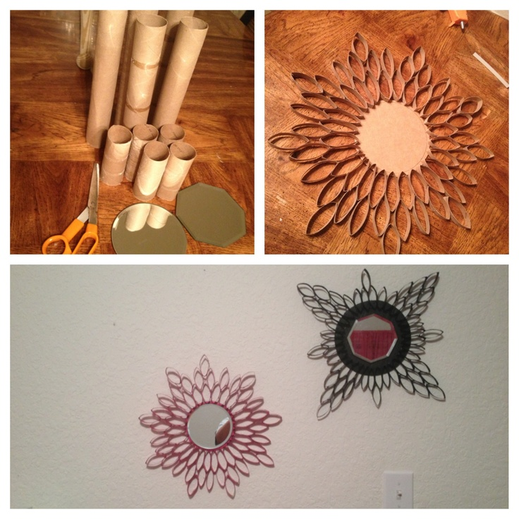 Toilet paper roll crafts art projects pinterest for Toilet paper roll art ideas