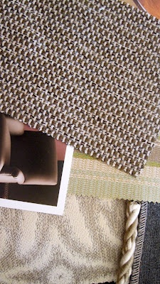 Ruggiero designs new textures.