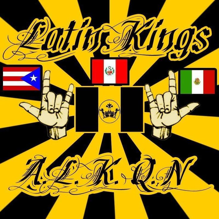 Latin kings drawings