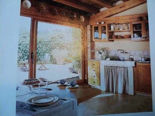 Cozinha r?stica. Ambiente decorado Pinterest