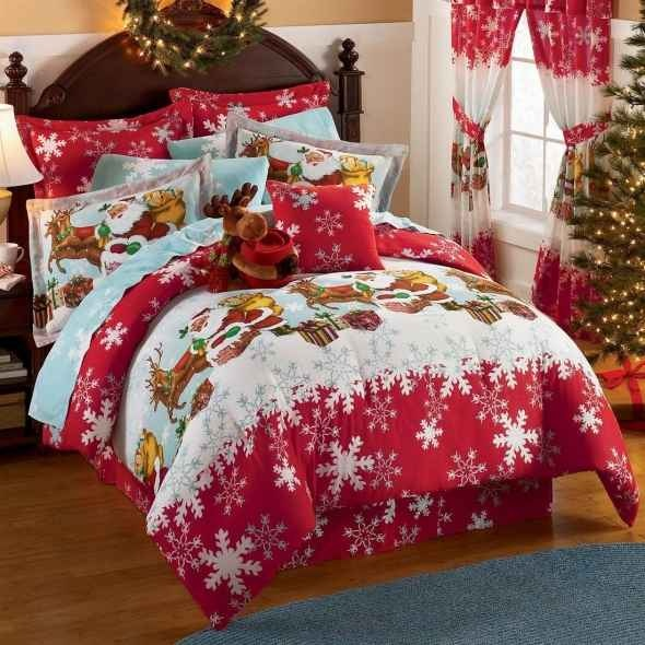 Reindeer holiday bedding holidays and celebrations for Brylane home christmas decor