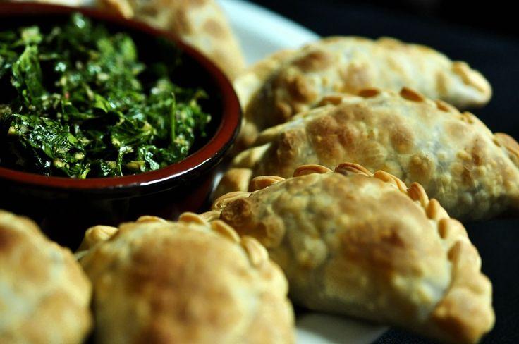 "Vegan Argentine ""Beef"" Empanadas on http://www.vegangsta.com ..."