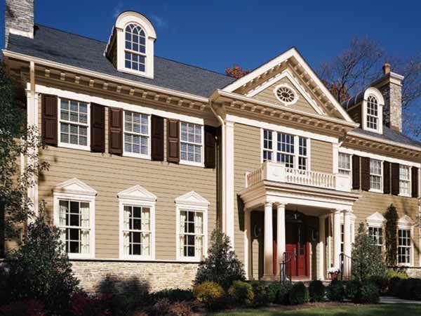 Paint Color Ideas For Colonial Revival Houses