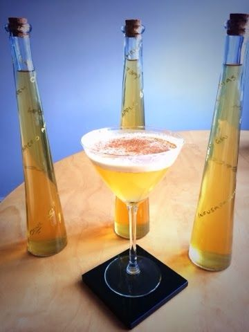 Infusapalooza: Drink of the Moment - Toffee Apple Pie-Tini