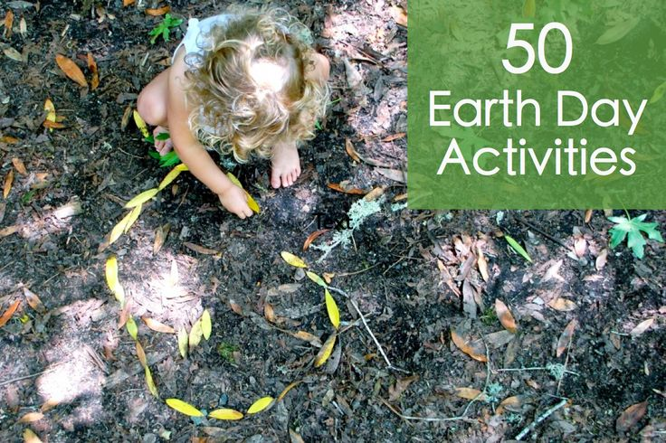 fifty earth activities