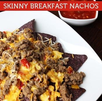 Skinny Breakfast Nachos | Skinny recipes | Pinterest