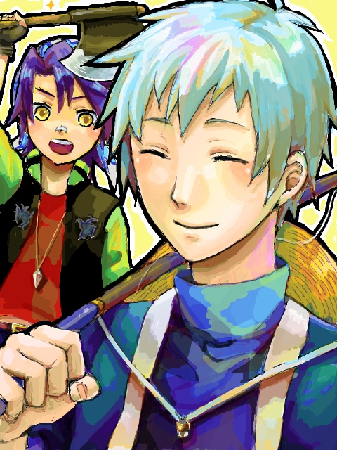 Luke and Toby | Harvest Moon and Rune Factory | Pinterest