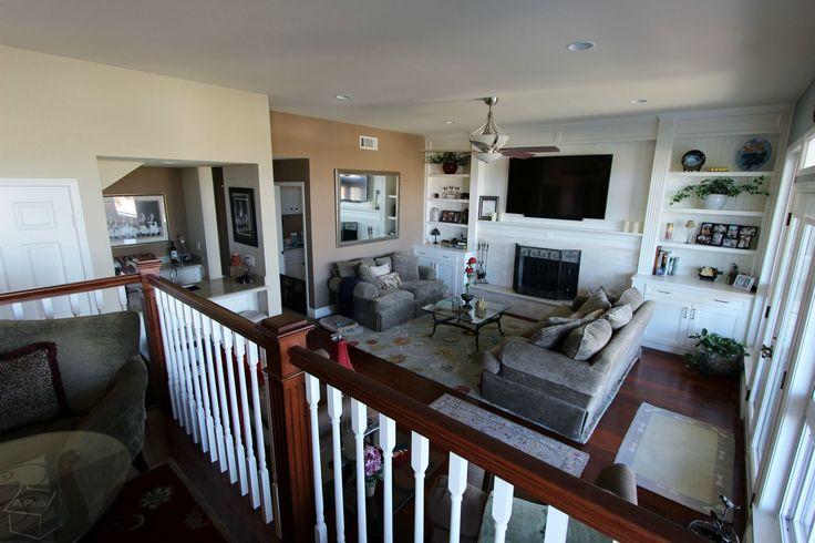 Complete Home Remodel Mission Viejo Orange County entertainment centre