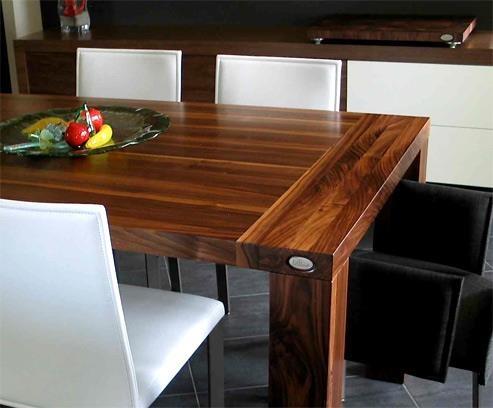 Table cuisine maison de reve pinterest - Table cuisine en pin ...
