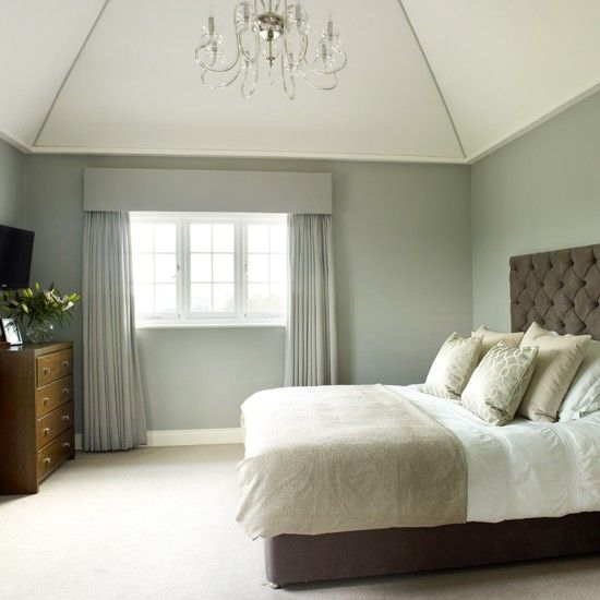 Grey And Cream Traditional Bedroom Home Is Where The