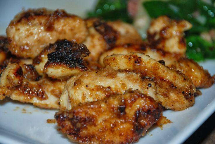 Spicy Mustard Maple Chicken | Food | Pinterest