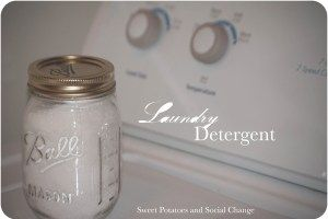 Sweet Potatoes and Social Change DIY Laundry Detergent