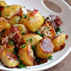 Oven Roasted Potatoes - These rich and flavorful potatoes will melt in your mouth!