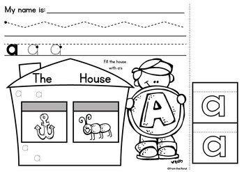 Alphabet Worksheets - Introducing Alphabet Phonics