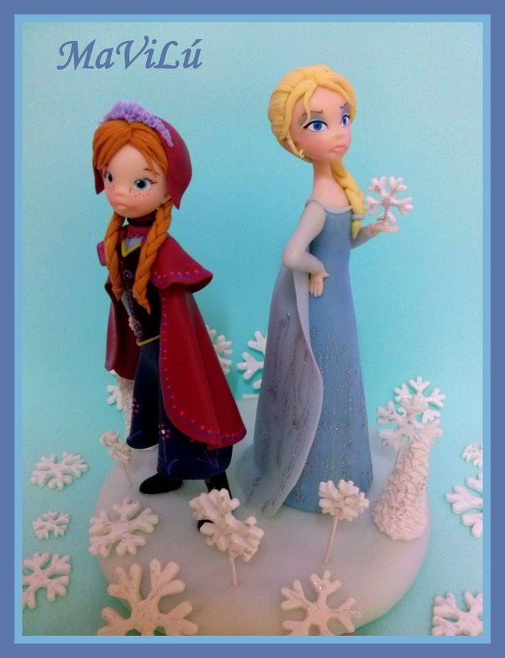 Anna y Elsa | Frozen | Pinterest