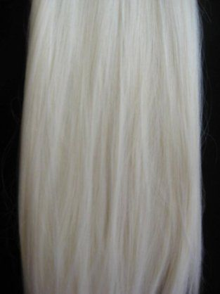 Platinum Blonde Hair Extensions 24 Inch 63