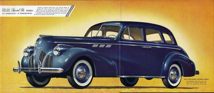 Pontiac 1940 american iron pinterest for 1940 pontiac 2 door sedan