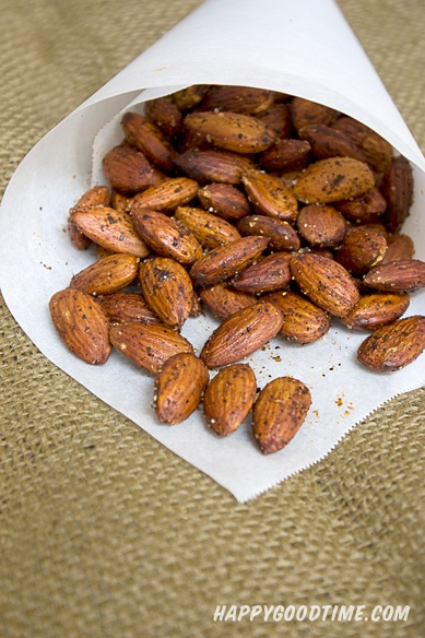 Smoked Paprika Roasted Almonds | Food for Thought | Pinterest