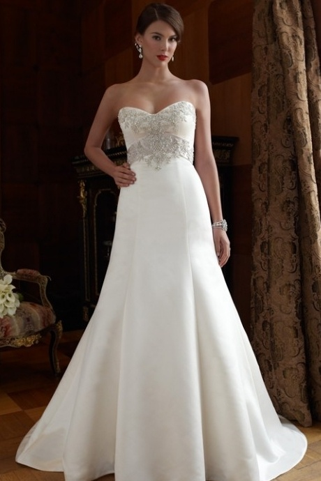 wedding dresses for big busted women 86