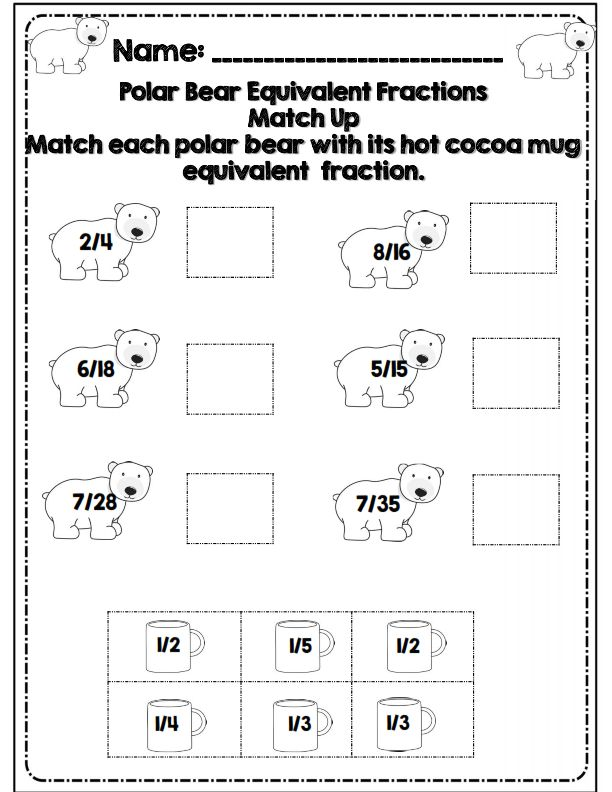 Math review worksheets for 6th graders