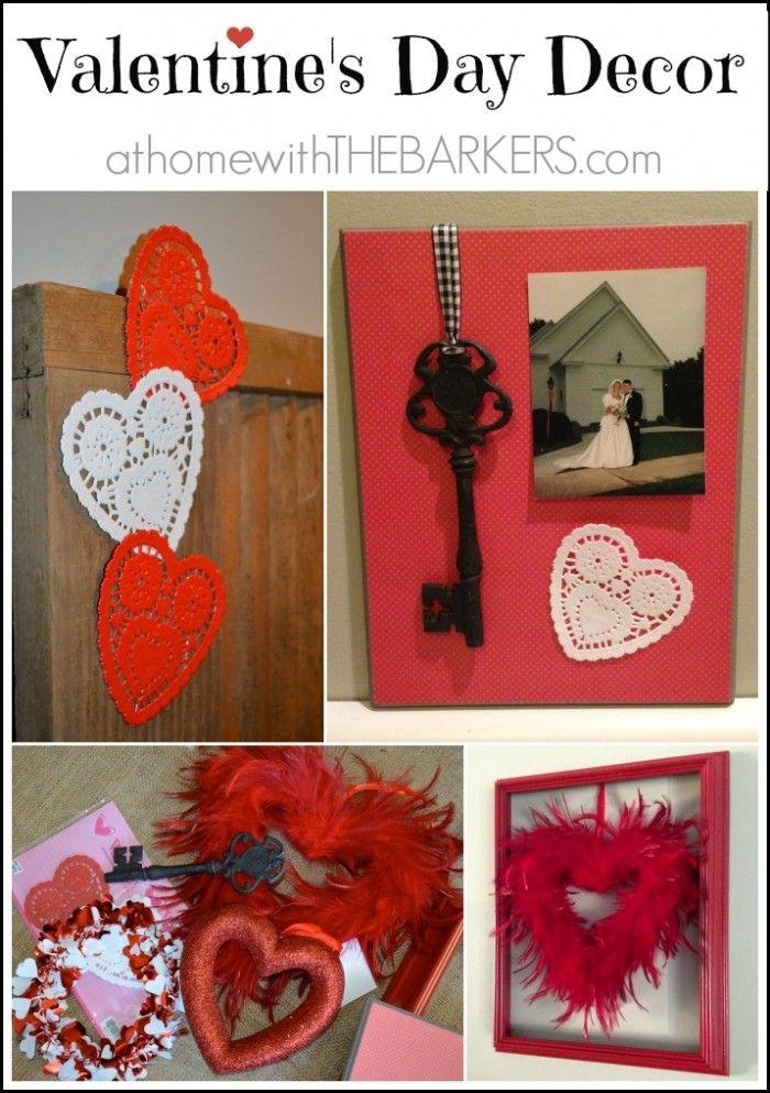 valentine day decor pinterest