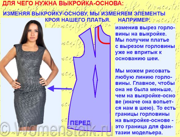 Как правильно сшить платье 84