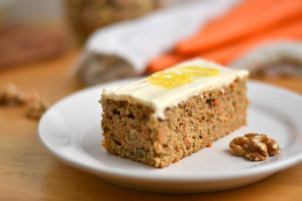 Whole Wheat Carrot Cake   Recipe