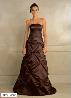 Brown wedding dresses my style pinterest for Brown dresses for wedding