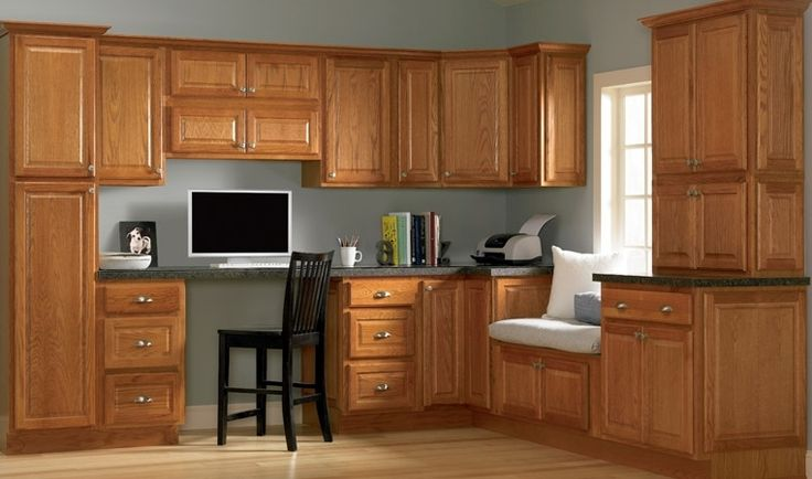 Kitchen Decorating Ideas Oak Cabinets First Home Pinterest