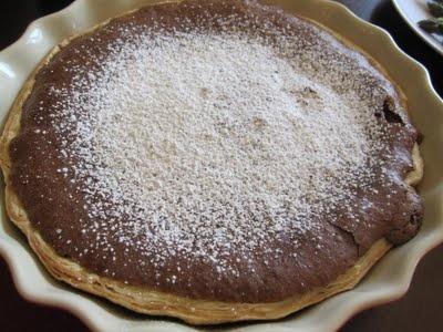Flourless Chocolate Espresso Tart | A Great American Cook | Pinterest