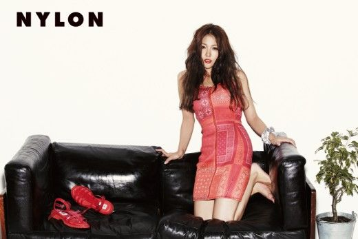 Boa models 'adidas originals x opening ceremony' for 'nylon