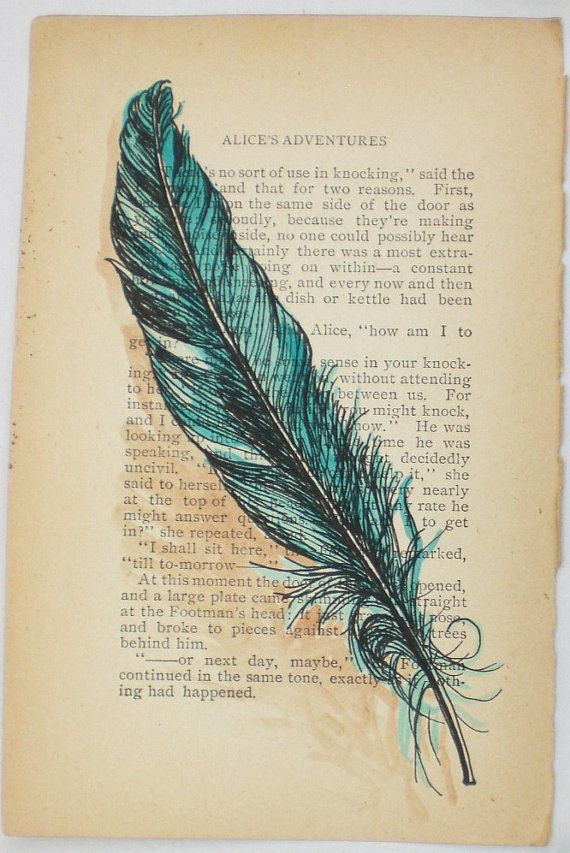 If I ever got a feather tattoo, this would be what it would look like...I Could Let You Out You Know or Prayer for Freedom by rowenamurillo,