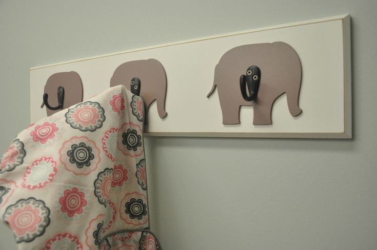 love these wall hooks from Homeworks Etc. Designs!