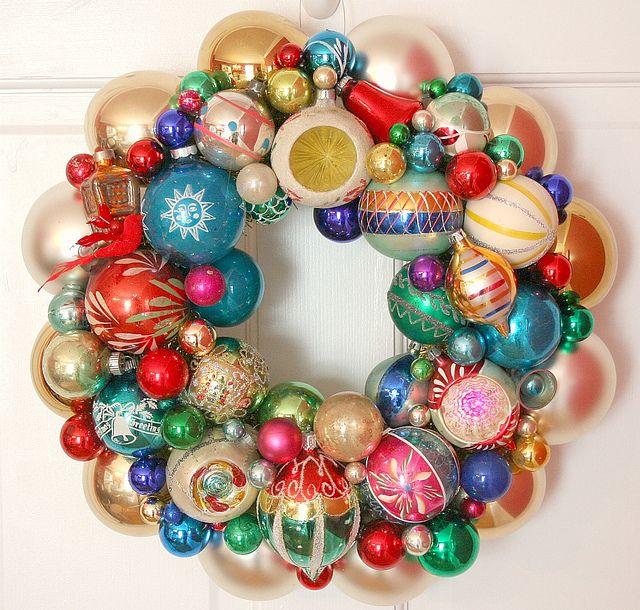 Vintage Ornament Wreath 39