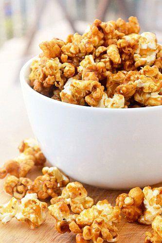 Caramel Corn | Recipes I need to try | Pinterest