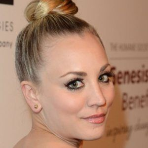 See Kaley Cuoco's New Pixie Cut (Photo)   Hairstyles   Pinterest