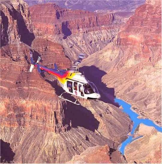 Grand Canyon by Helicopter