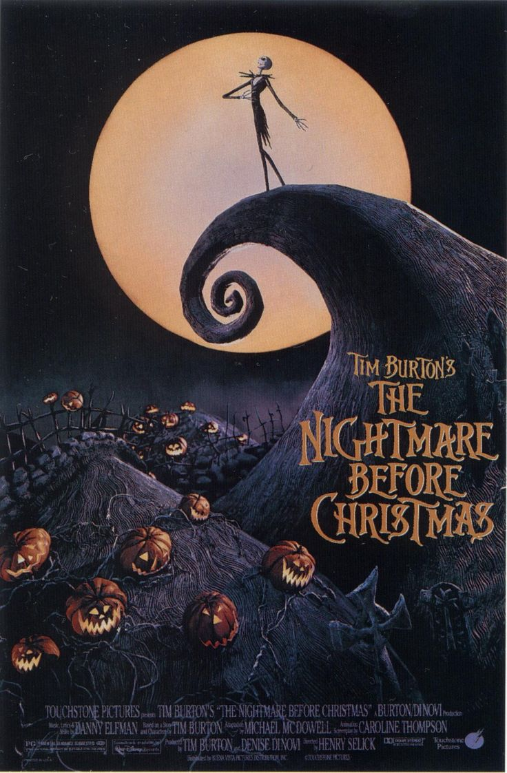 The Nightmare Before Christmas | Books. Films and Music | Pinterest