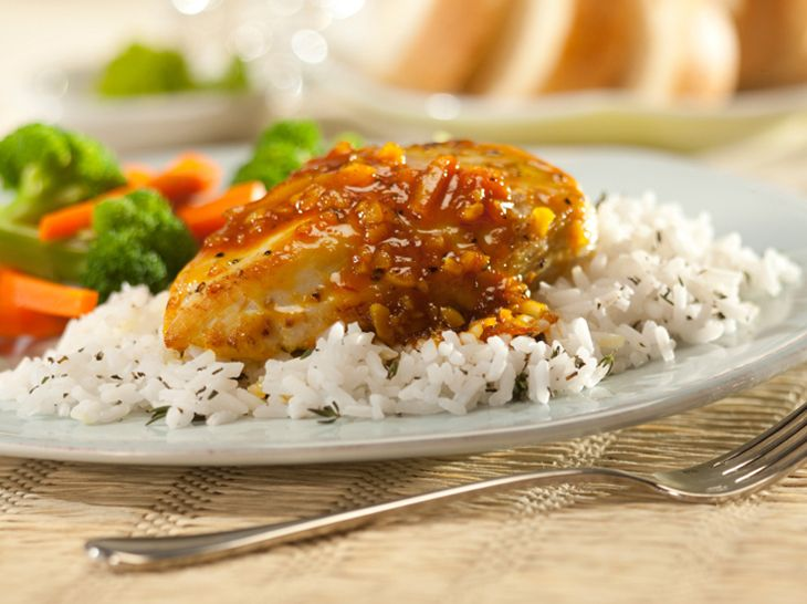 Pan-Seared Chicken with Shallot-Orange Sauce