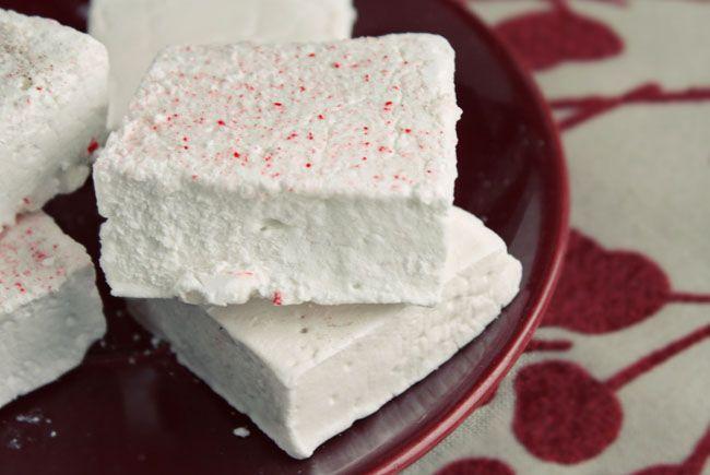 Peppermint Marshmallows | recipes | Pinterest