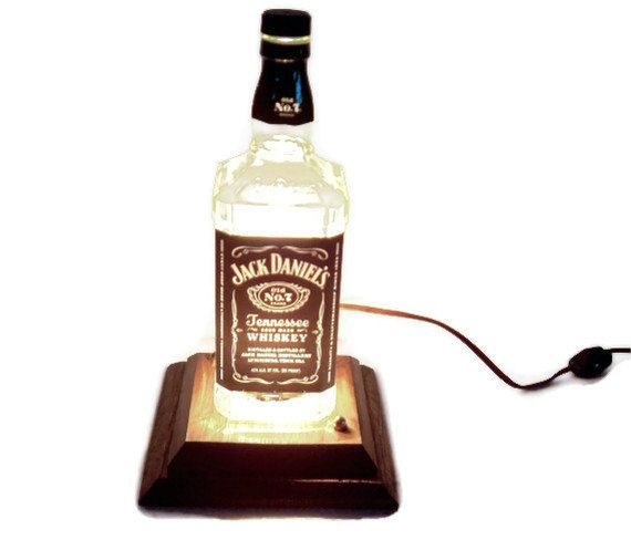Jack Daniels Table Lamp Gift For Men Gift For Man Cave