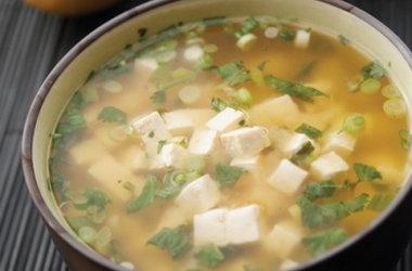 Lemony Miso Soup — Punchfork | Vegan! | Pinterest
