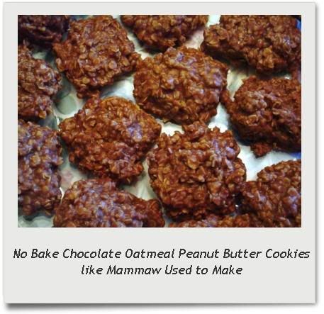 No-Bake Chocolate Oatmeal Cookies Like Mammaw Used to Make