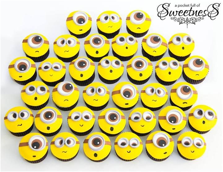 Minions Cupcake Topper by A Pocket Full Of Sweetness (http://www ...