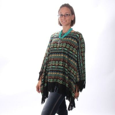 Double D Night Horizons Womens Poncho - Womens - Clothing