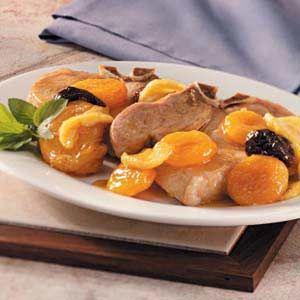 Pork Chops with Fruit | Recipe